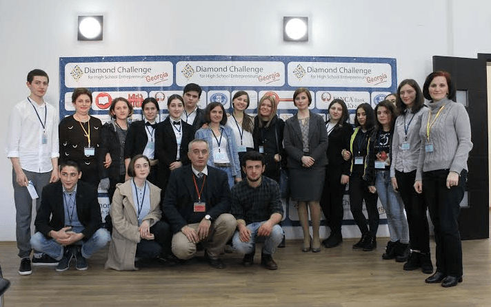 Diamond Challenge Georgia 2016 participants.